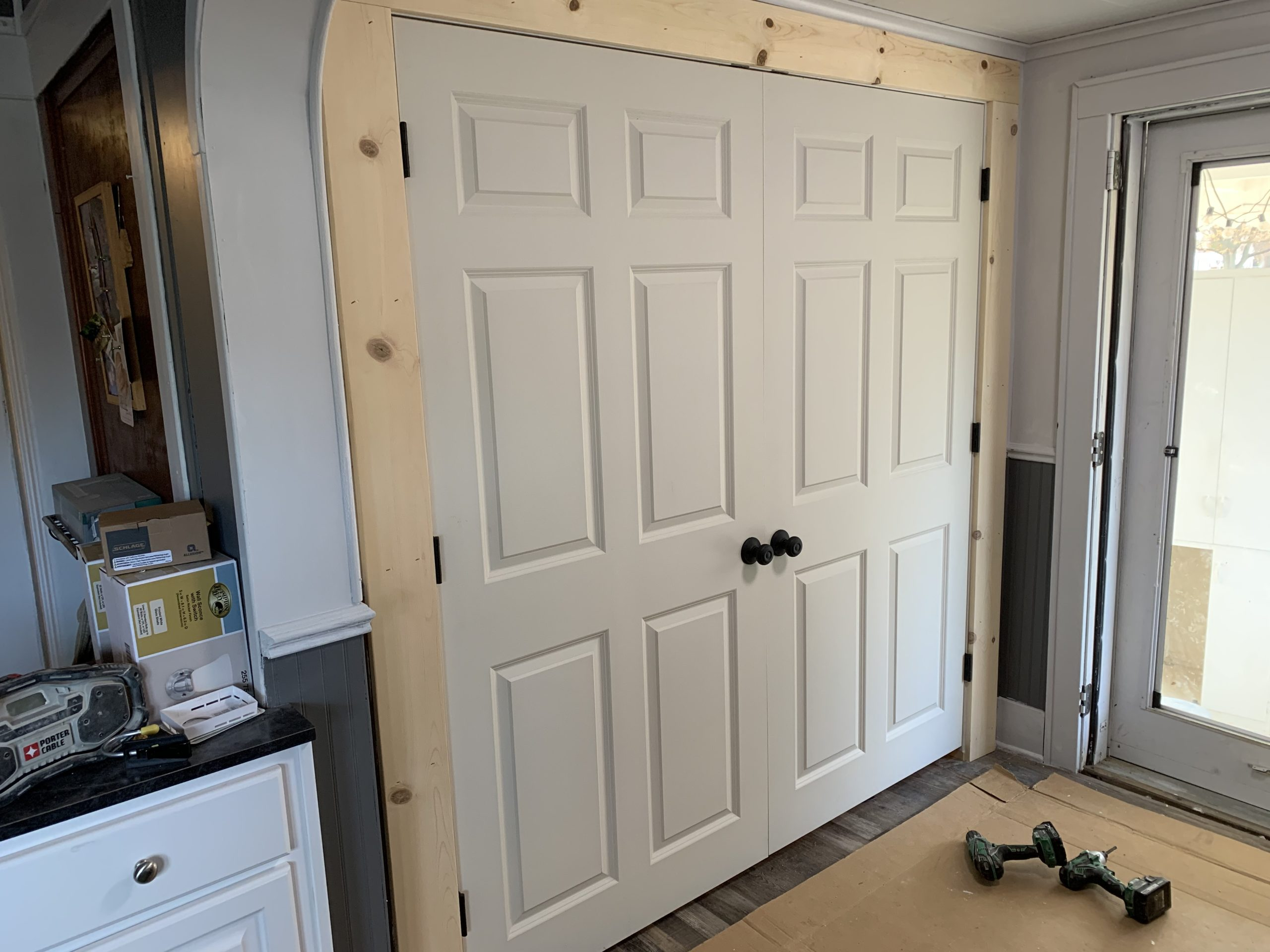 Double Closet Door Installation – Antwerp, Ohio