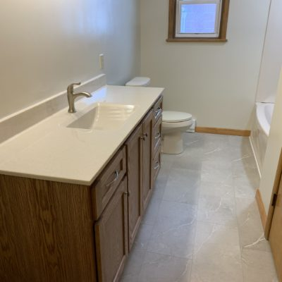 Bathroom Remodel – Hicksville, Ohio