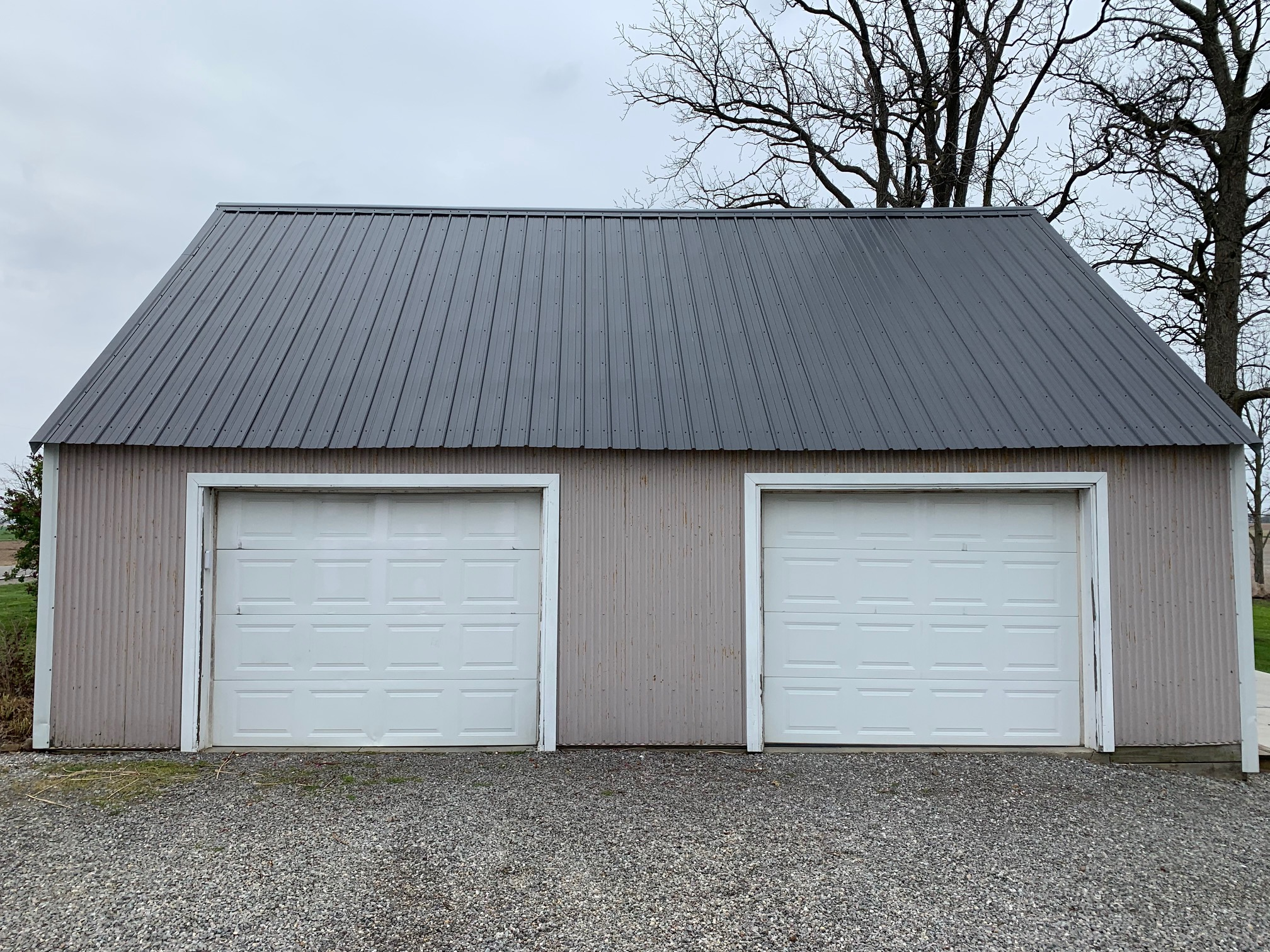 Black Pro-Rib Steel Roof Installation – Hicksville, Ohio