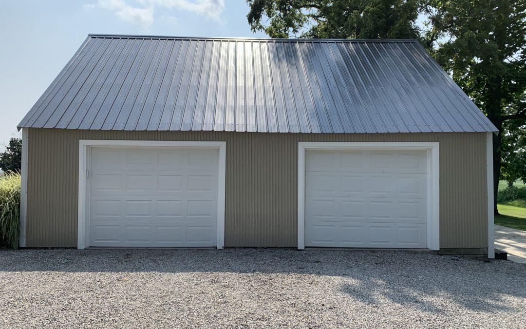 Black Pro-Rib Steel Roof Installation – Hicksville, Ohio