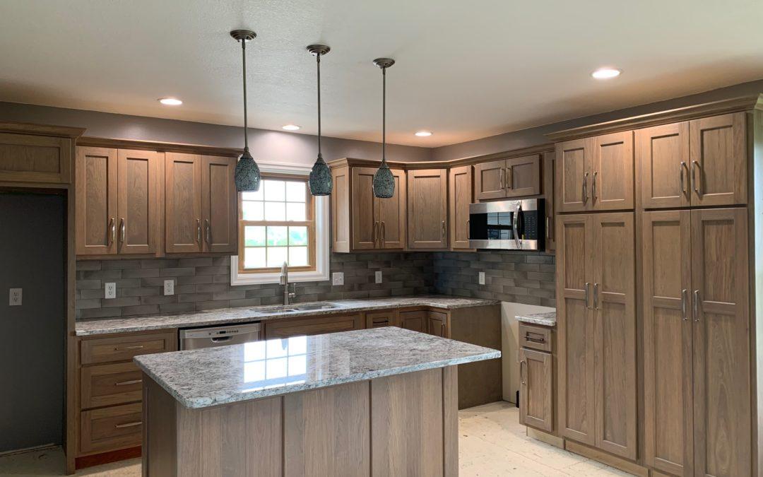 Kitchen Remodel w. Tile Backsplash – Edgerton, Ohio