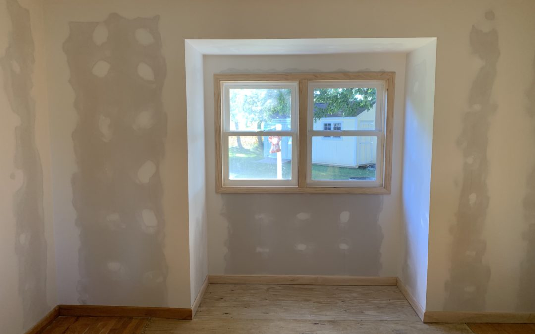 Fireplace Removal & Bump-Out Construction – Edgerton, Ohio